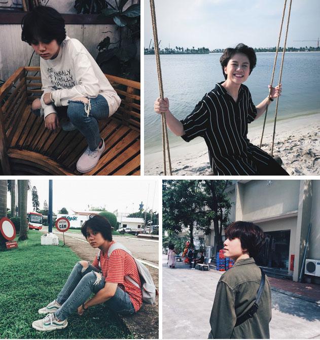 Style ngoài đời của 3 chị em gái Về nhà đi con: Bảo Thanh trẻ trung, Bảo Hân cá tính nhưng bất ngờ nhất lại là chị cả Thu Quỳnh-13