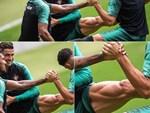 Biểu cảm hài hước của Ronaldo sau khi cùng đồng đội tuyển Bồ Đào Nha làm nên lịch sử ở UEFA Nations League-7