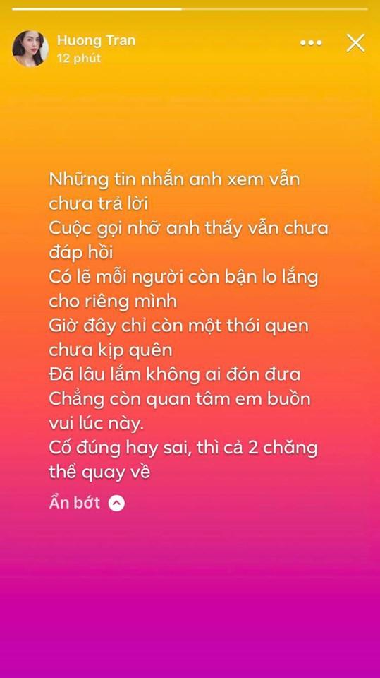 Bà xã Việt Anh Người phán xử liên tiếp đăng story buồn, dấu hiệu cặp đôi sắp tan vỡ?-2
