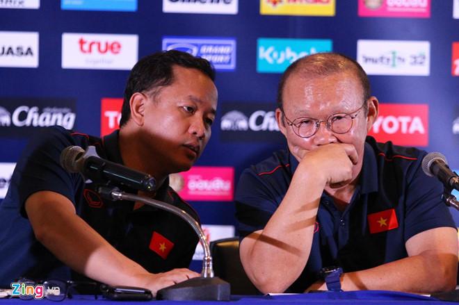 HLV Park giữ an toàn cho cầu thủ quan trọng hơn thắng Thái Lan-2