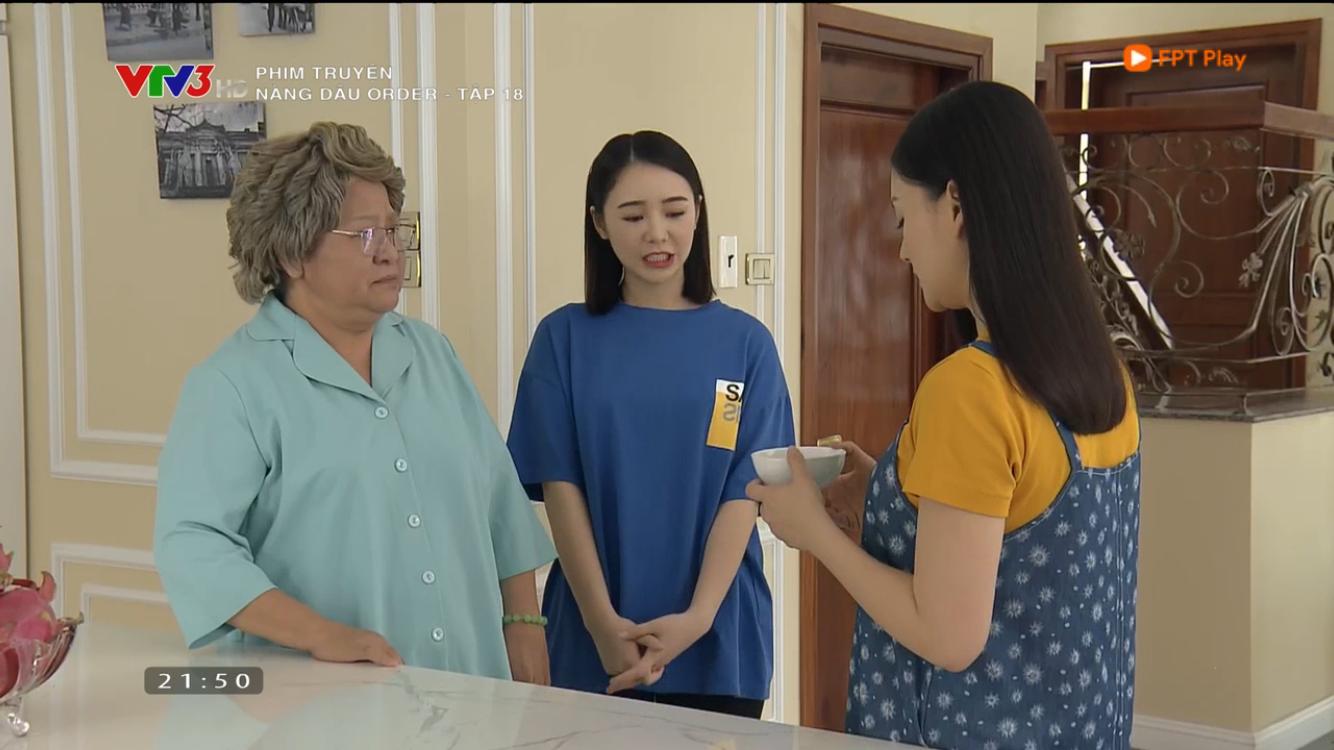 Nàng dâu order: Hãi hùng cảnh em gái mưa ép Lan Phương ăn trứng cả buồng, ăn chuối cả nải để... có con-1