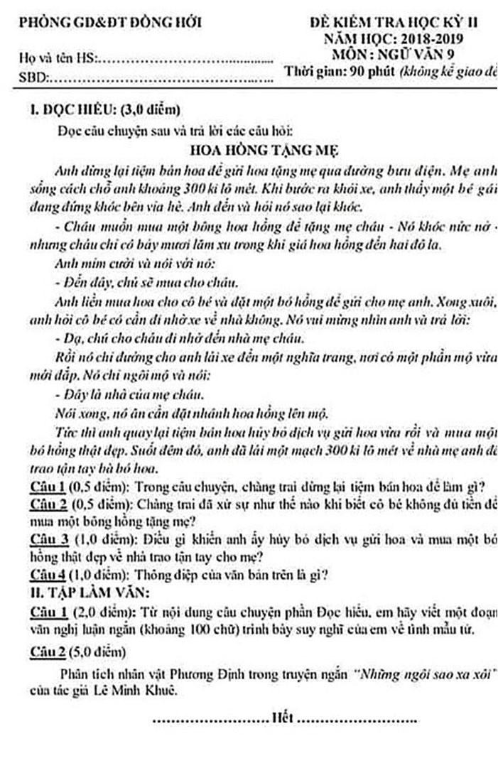 6400 học sinh Quảng Bình đội nắng 36 độ thi lại môn Văn: Quá vô lý vì lỗi của người ra đề và giám thị nhưng bọn em phải chịu trách nhiệm-11