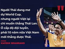Những phát ngôn gây sốc của người Thái trước cuộc đấu Việt Nam