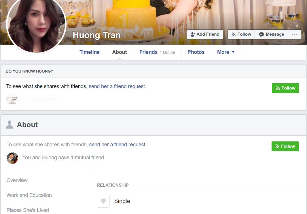 Giữa lúc thông tin vợ chồng trục trặc rộ lên, cả hai vợ chồng diễn viên Việt Anh đều cập nhật trạng thái độc thân.-2
