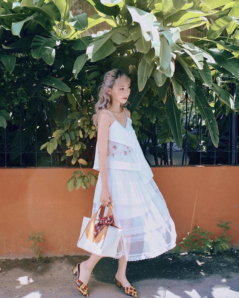 Hương Tràm hết khoe da đẹp đến street style chất lừ ở Mỹ - Sĩ Thanh lên đồ chói chang ngày hè-8