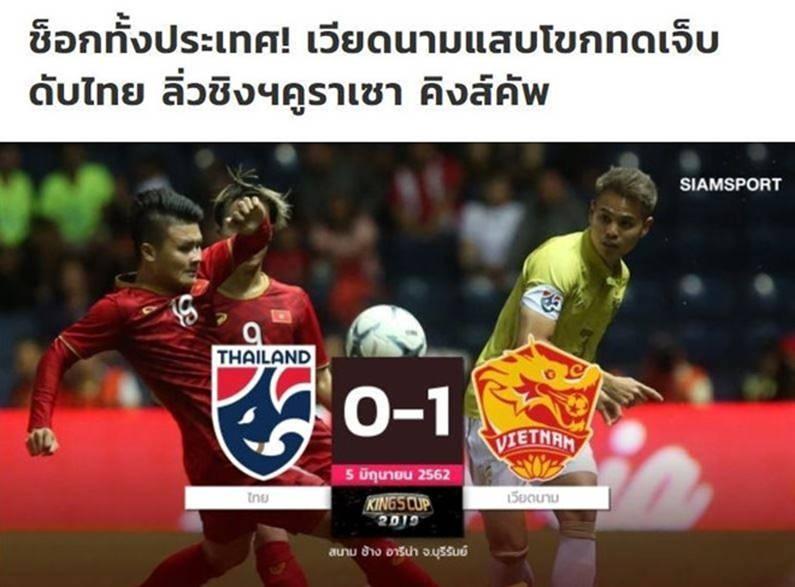 Truyền thông gọi trận thua Việt Nam là cú sốc cho cả nước Thái Lan-1