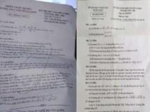 Học sinh phản ánh đề thi Toán vào lớp 10 Quảng Ngãi có 2 câu 5 điểm giống hệt đề thi thử một trường trước đó