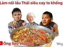 Trước khi vỡ òa hạnh phúc sau bàn thắng vàng của Anh Đức, HLV Park Hang Seo có những biểu cảm cực… thương