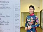 Thông tin cực hiếm về chú rể của MC Phí Linh: Phó trưởng phòng tiếng Anh, người đứng sau nhiều show đỉnh của VTV-10