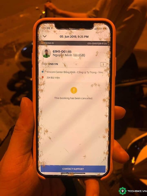 Nữ du khách người Nga tố bị tài xế xe ôm công nghệ cướp điện thoại, xô ngã xuống đường giữa đêm khuya ở Sài Gòn-2