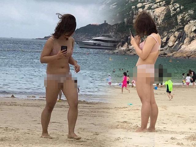 THẢM HỌA thời trang đi biển: Người diện nội y mặc như không - kẻ lại kín bưng hở mỗi mắt-1