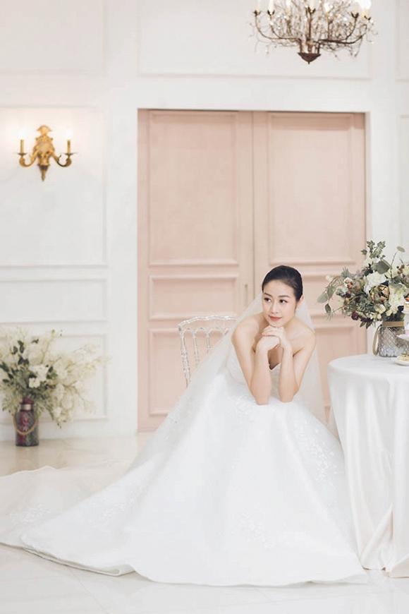 MC Phí Linh khoe bộ ảnh cưới xinh như công chúa-5