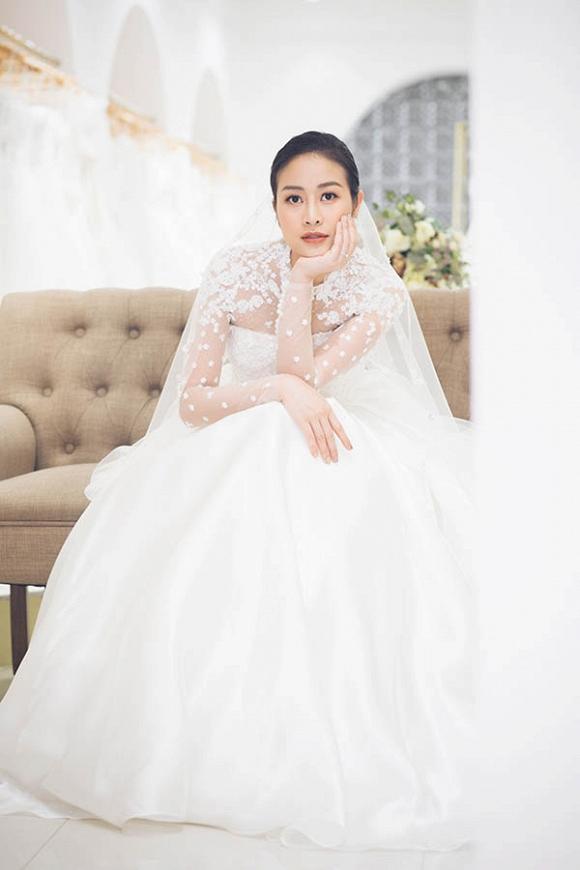 MC Phí Linh khoe bộ ảnh cưới xinh như công chúa-6