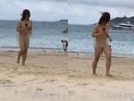 Diện áo trễ tận mông lại không áo ngực, cô gái mặc buông lơi gây bão mạng xã hội-3
