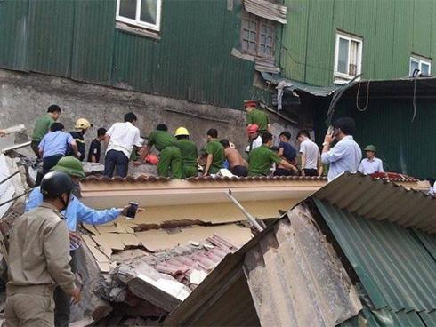 Nạn nhân trong vụ sập nhà ở TP Hà Tĩnh đã tử vong-1