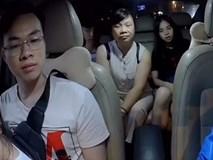 CLIP: Kéo 6 người lên ô tô 4 chỗ, khách nữ mắng tài xế là