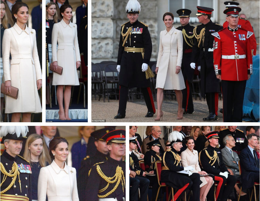 Tái xuất với vẻ ngoài khác thường không nhận ra, Công nương Kate bất ngờ dính nghi án thẩm mỹ ở điểm này-2