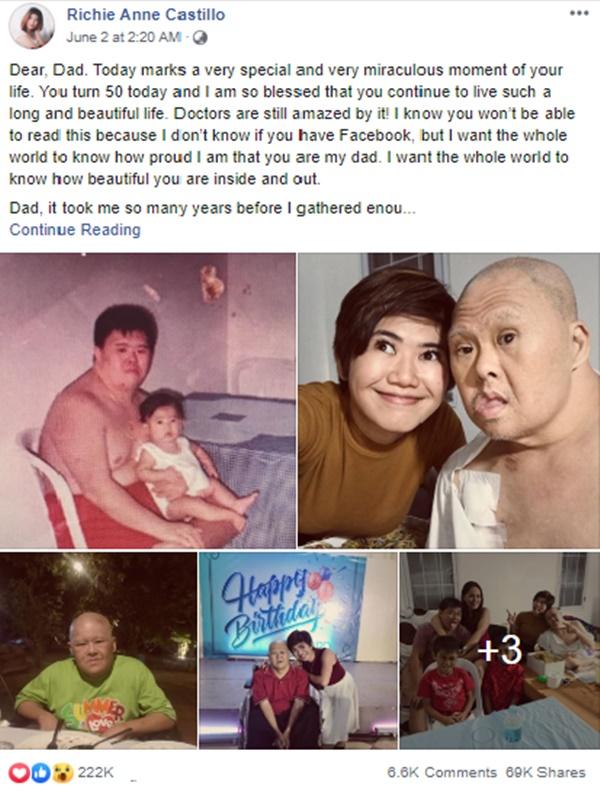 Bức thư đầy xúc động của con gái gửi đến người cha mắc Hội chứng Down: Con muốn cả thế giới biết rằng cha tuyệt vời đến thế nào-1