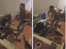 Xôn xao clip thanh niên tát tới tấp rồi mắng chửi bạn gái thậm tệ: Không ai nhường ai, cả 2 lên FB