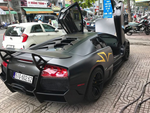 Dàn siêu xe hơn 300 tỷ rầm rộ tụ họp trên đường phố Hà Nội, Cường Đô La và vợ cũng xuất hiện với chiếc Audi R8V10-13
