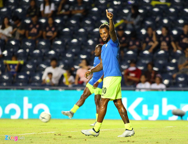 ĐT Việt Nam - ĐT Curacao: Công Phượng đá hỏng luân lưu, tuyển Việt Nam về nhì tại Kings Cup-25