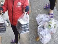 Hết bùng trà sữa tiền triệu, một shipper nữ khác bị 'bom' gần 500 ngàn tiền cơm khiến dân mạng phẫn nộ