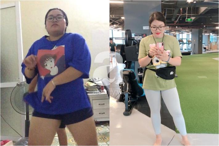 Cô nàng 9x giảm 30kg trong 9 tháng: 70% nhờ ăn uống và tập luyện, 30% còn lại là nhờ điều đơn giản này-1
