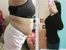 Cô nàng 9x giảm 30kg trong 9 tháng: 70% nhờ ăn uống và tập luyện, 30% còn lại là nhờ điều đơn giản này