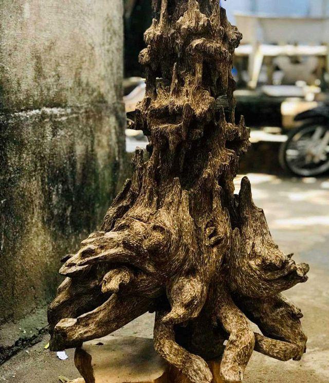 20 năm lặn lội, đại gia Hà thành ôm bộ sưu tập gỗ trầm lũa có 1 không 2-2