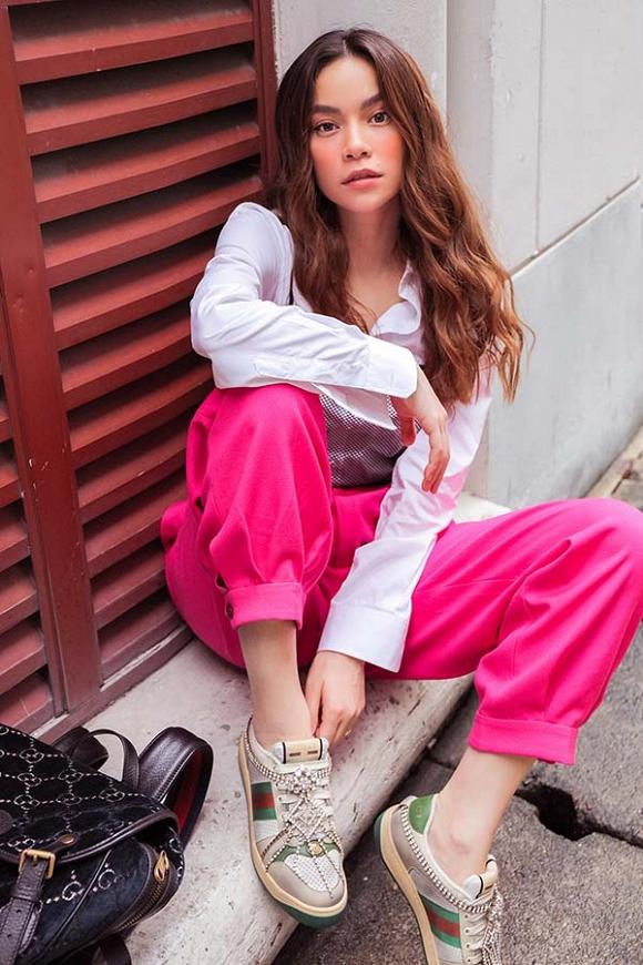 Hồ Ngọc Hà khoe street style trẻ trung trong chuyến công tác tại Singapore-3