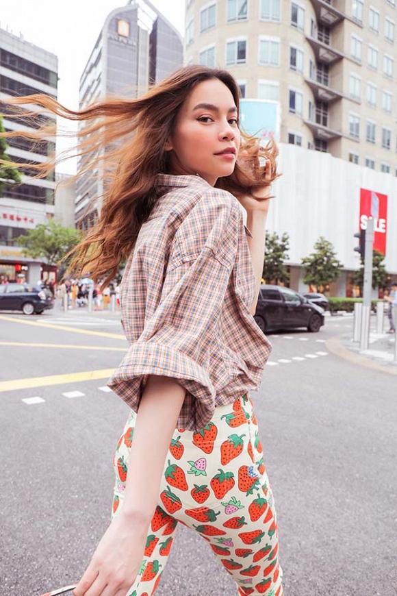 Hồ Ngọc Hà khoe street style trẻ trung trong chuyến công tác tại Singapore-7
