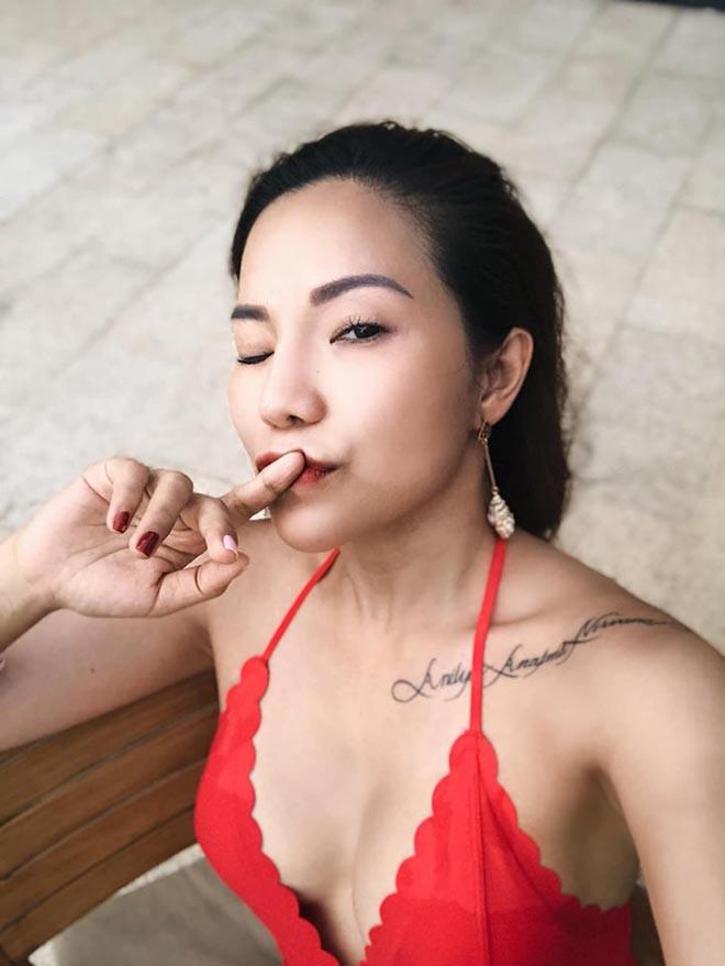 Vợ cũ Lâm Vinh Hải tung ảnh nóng, khoe cuộc sống hạnh phúc bên người yêu-1