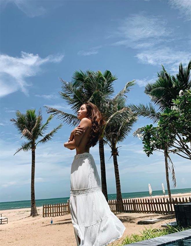 Vợ cũ Lâm Vinh Hải tung ảnh nóng, khoe cuộc sống hạnh phúc bên người yêu-11