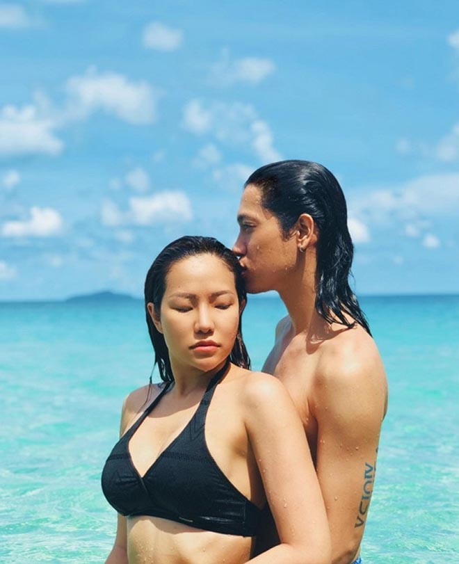 Vợ cũ Lâm Vinh Hải tung ảnh nóng, khoe cuộc sống hạnh phúc bên người yêu-6