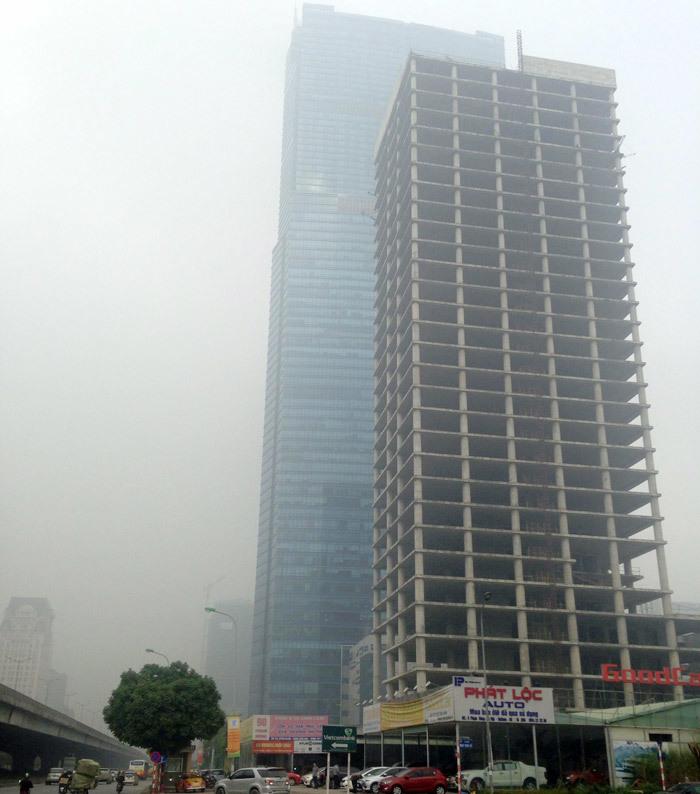 Tòa tháp ma hoang lạnh, ngàn tỷ đổ nát giữa Thủ đô-1