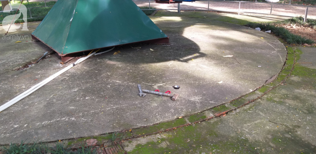 Hà Nội: Rơi máy bay mô hình trong công viên Linh Đàm, một cháu bé bị thương-3