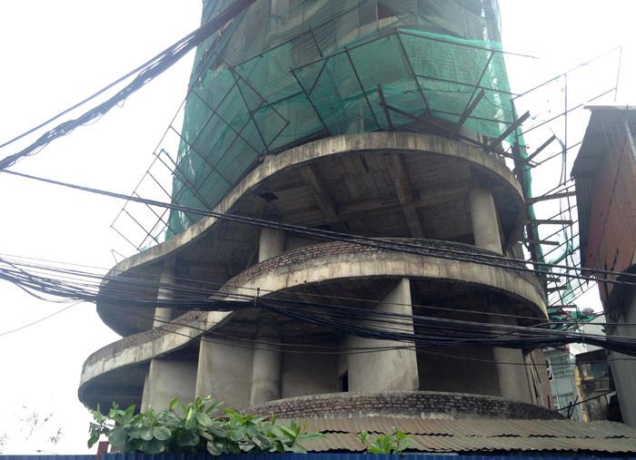 Tòa tháp ma hoang lạnh, ngàn tỷ đổ nát giữa Thủ đô-4