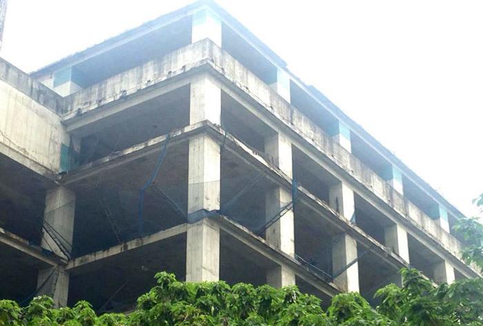 Tòa tháp ma hoang lạnh, ngàn tỷ đổ nát giữa Thủ đô-8