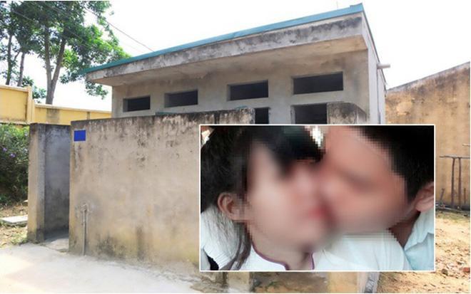 Cô giáo đứng tim khi phát hiện học sinh mây mưa trong nhà vệ sinh-1