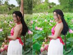 Bức ảnh nhóm phụ nữ trung niên chụp ảnh hoa sen gây tranh cãi dữ dội, nào ngờ dân mạng lại bị hớ vì điều này-3