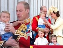 Khoảnh khắc Hoàng tử Louis lên