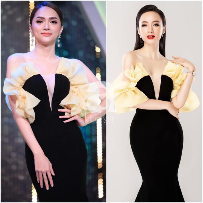 Một bộ đầm hai số phận: Đụng hàng với Angela Phương Trinh, HH Hương Giang mặc sai lè mà chẳng hề hay biết-4