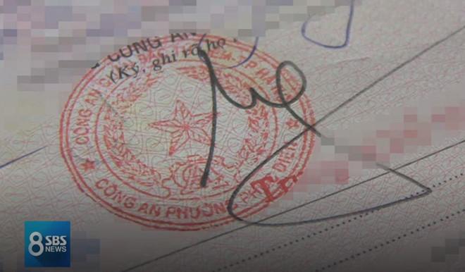 Đài SBS: Cò ở Hà Nội làm giả hồ sơ xin visa 5 năm đi Hàn Quốc-6