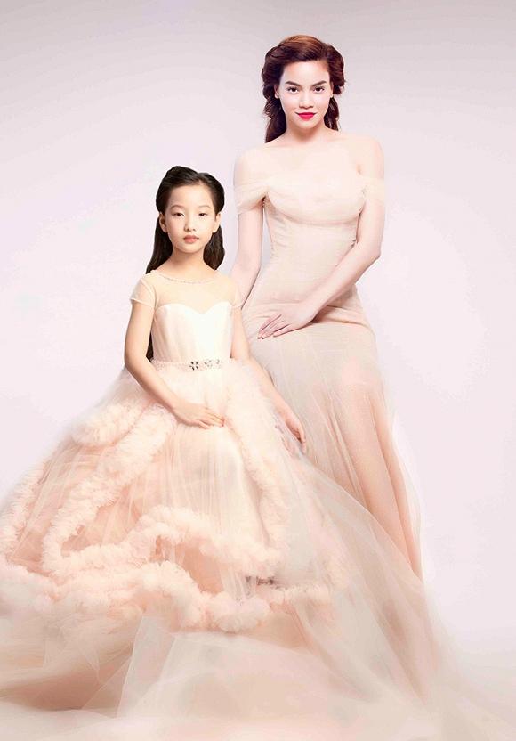 Hà Hồ, Ngô Thanh Vân đẹp tựa nữ thần bên dàn mẫu nhí-2