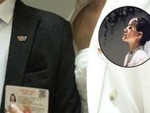 MC Phí Linh vừa khoe ảnh cưới, ông xã tương lai cũng nhanh tay chứng tỏ
