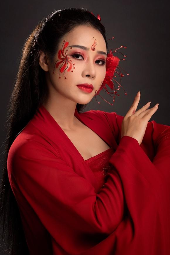 Hoa Trần - vợ NSƯT Việt Hoàn gây thương nhớ với tạo hình cổ trang-3