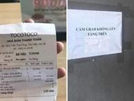 Quán trà sữa 'cấm tài xế lên tầng' bị tố phân biệt đối xử