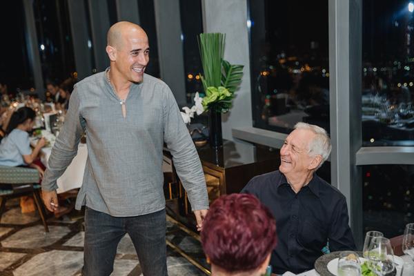 Đầu bếp 'vạn người mê' David Rocco chủ trì dạ tiệc trên đỉnh Landmark 81-9