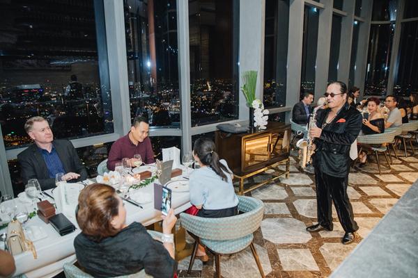 Đầu bếp 'vạn người mê' David Rocco chủ trì dạ tiệc trên đỉnh Landmark 81-10