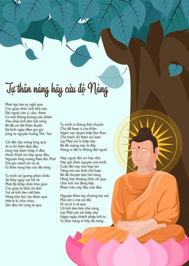 Ca sĩ Phương Thanh chỉnh sửa lại Độ ta không độ nàng theo tinh thần Phật pháp-1